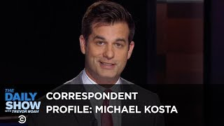 Michael Kosta: A Doctor of Many Charts | The Daily Show