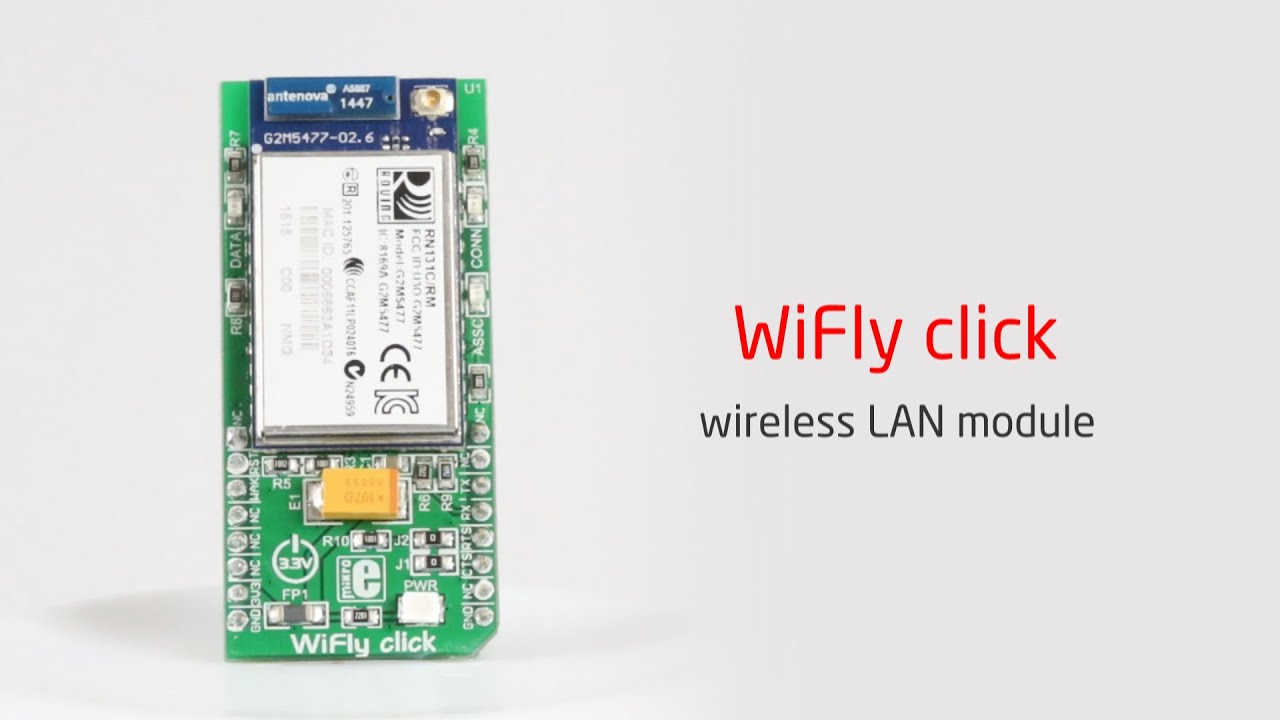 Wireless Connectivity Click Boards | Mikroelektronika | The Debug Store