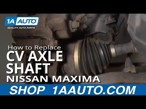 How to Replace CV Axle Shaft 00-03 Nissan Maxima
