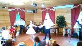 Свадебный танец. Никита и Ксения. Протвино. Ромео и Джульетта - Благословение.
