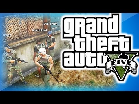 Thumbnail: GTA 5 Online Funny Moments Military Edition! - Pvt. Piggy's Secret Mission, Funny Skit and Moments!