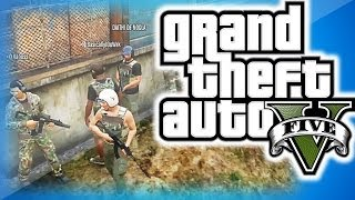 GTA 5 Online Funny Moments Military Edition! - Pvt. Piggy's Secret Mission, Funny Skit and Moments!