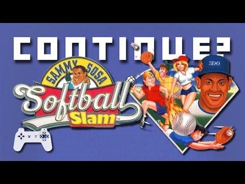 Sammy Sosa Softball Slam - Continue? (PS)