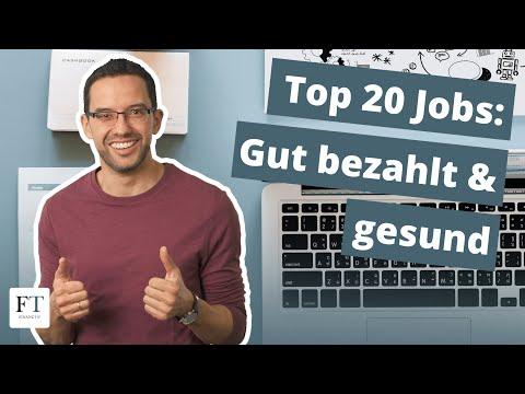 Die 20 Bestbezahlten Jobs, Die Nicht Krank Machen