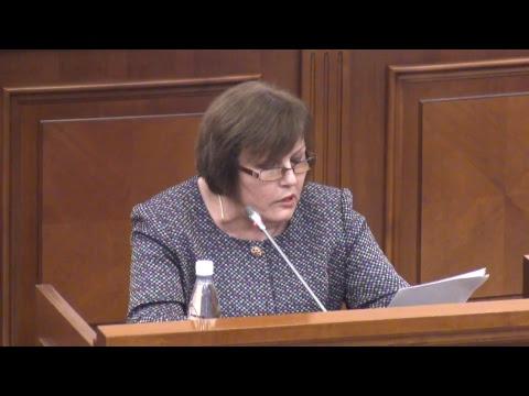 Şedinţa Parlamentului Republicii Moldova 19.10.2017