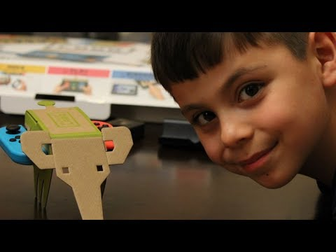 1st Hour with Nintendo Labo - RC Cars Part 1