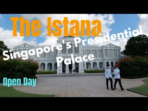 THE ISTANA OPEN HOUSE - Singapore's Presidential Palace 2021.🇸🇬