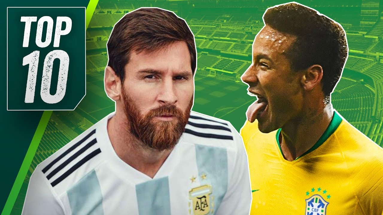 cc3a0ed50f0 Top 10 BEST World Cup 2018 Kits & Key Player To Watch From Each Team ▻ ft  Argentina, Brazil, England