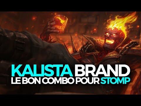 KALISTA BRAND LE BON COMBO POUR STOMP LA LANE - Kalista ADC Ranked Challenger