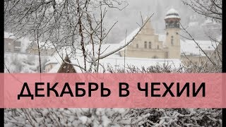 Декабрь в Чехии — Lifestyle Vlog о жизни в европейской деревне