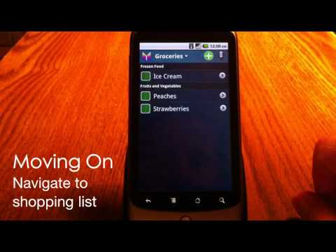 Mighty Grocery Shopping List App For Android