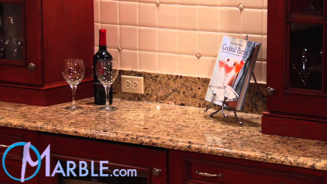 Santa Cecilia Granite Kitchen Countertops Ii By Marble Com