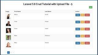 Laravel 5.8 Crud Tutorial with Upload File - 5