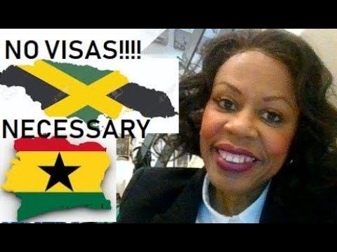 NO VISAS NECESSARY BETWEEN JAMAICA AND GHANA (THE YEAR OF THE RETURN)