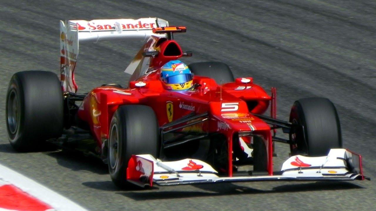 Formula 1 F1 2012 Cars Pure V8 Engine Sound Youtube