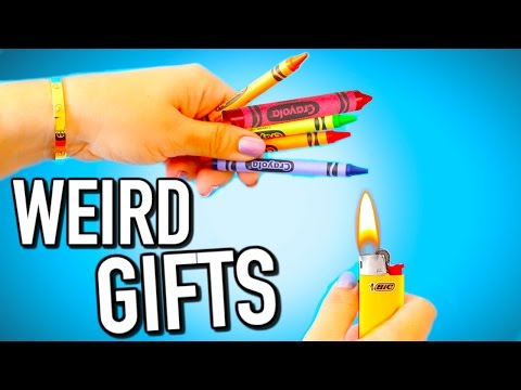 Weird DIYs - DIY Weird last minute christmas gifts you NEED to try!
