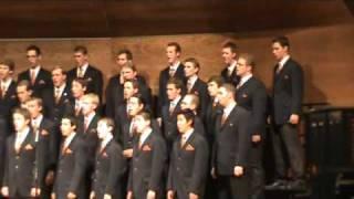 byu idaho men s choir lux aurumque