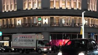 Ginza Wako Clock SONY A77 60p Movie TEST -02- Ginza Tokyo 2 α77 テスト 銀座