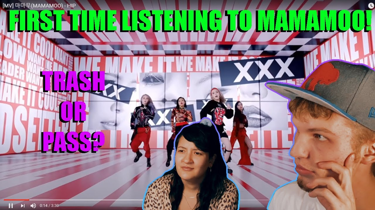 FIRST TIME LISTENING TO MAMAMOO! | HIP (COUPLE REACTION | LYRIC BREAKDOWN!) | TRASH OR PASS?