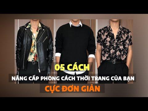 5 cách nâng cấp phong cách thời trang của bạn cực đơn giản   Thời trang nam   Việt Nâu