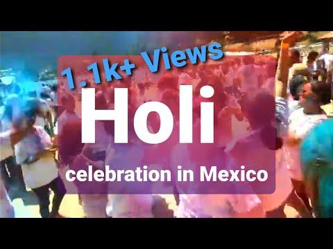 Mexico: Holi 2018 @ la Marquesa , Mexico city/IAM /Indian Association of Mexico