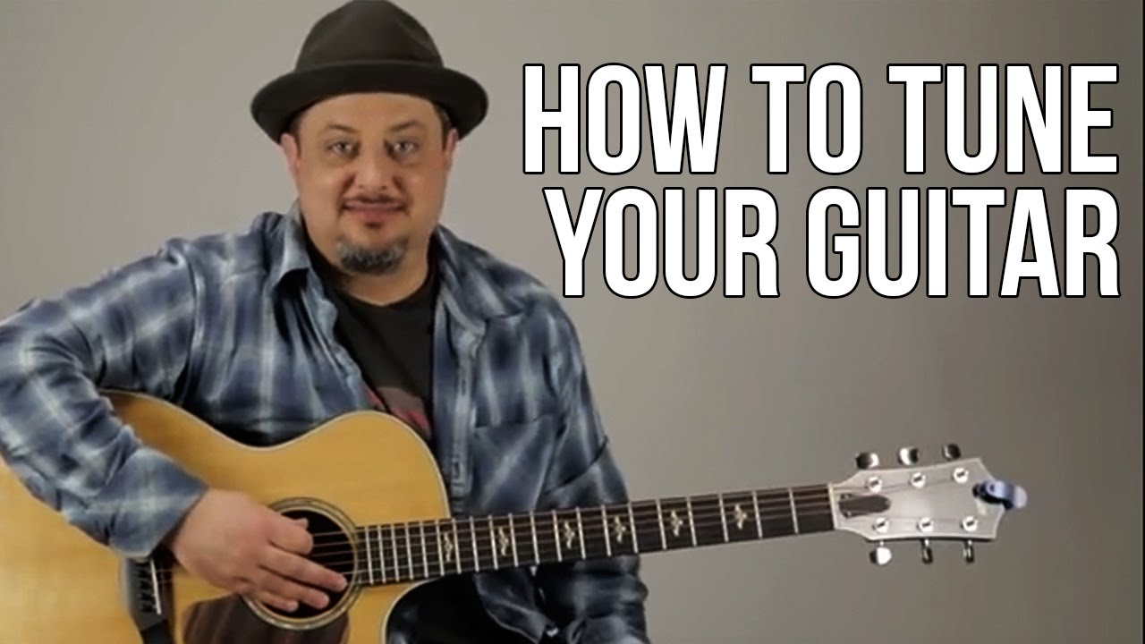 How To Tune Your Guitar For Beginners Youtube