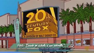 Los Simpson predijeron la compra de Fox por Disney