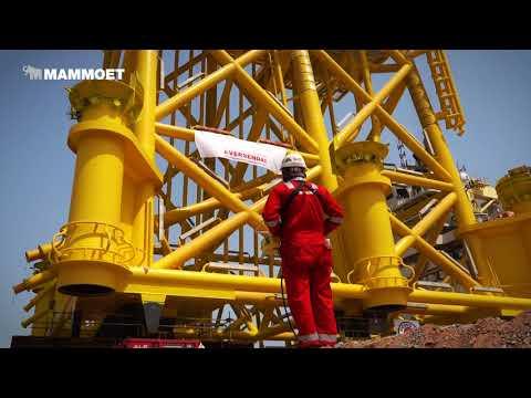 Hollandse Kust Zuid Offshore Wind project's Alpha jacket loadout
