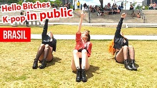 K-POP IN PUBLIC - CL HELLO BITCHES dance cover challenge by BLACK SHINE