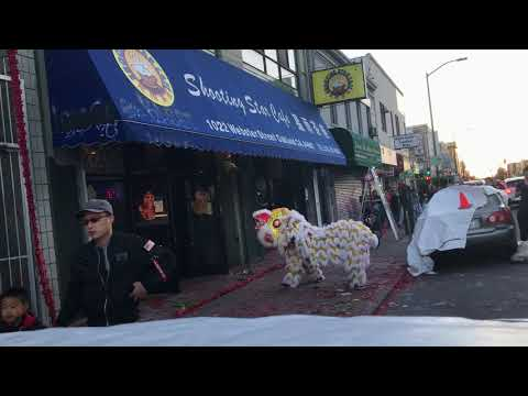 [Hung Sing Martial Arts] Lion Dance performance at Shooting Star Cafe