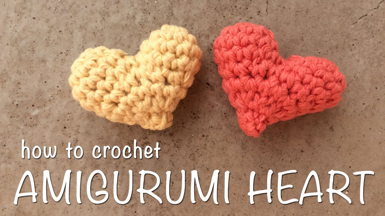 Tutorial Amigurumi Annarellagioielli : How to crochet heart amigurumi d heart crochet youtube
