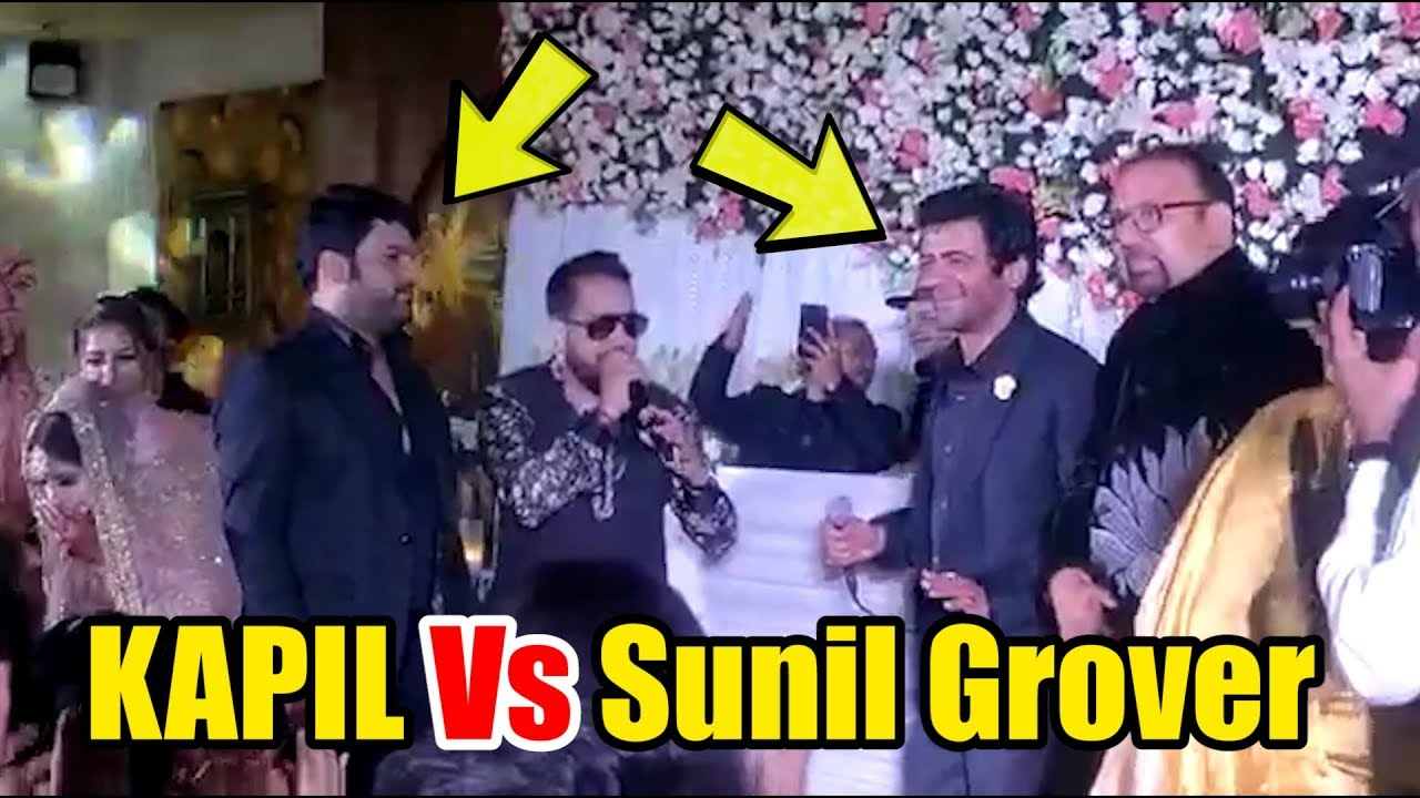 Kapil Sharma Face Off With Sunil Grover | FIRST TIME | Kapil Vs Sunil Grover