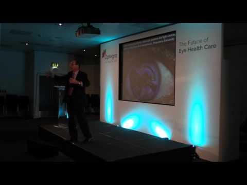 Future of Eye Care, Blindness, Retina Repairs, Opticians, Opthalmology Futurist Keynote Speaker