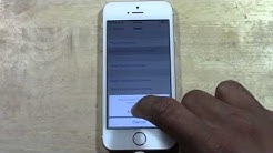 iPhone 5s - How to Reset Back to Factory Settings | H2TechVideos