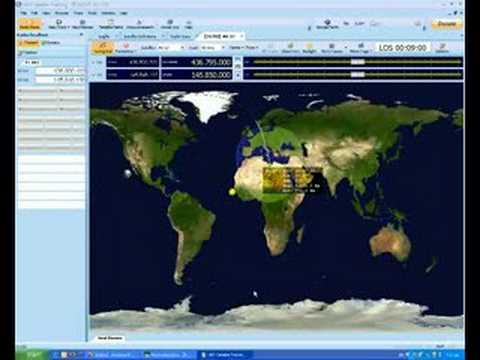 Satellite QSO Using the new Ham Radio Deluxe Satellite Track