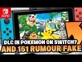 Pokemon Switch RUMOURS - DLC in  Pokémon Let's GO Pikachu & Let's GO Eevee