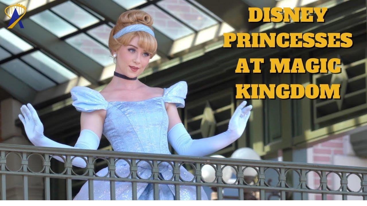 Disney Princesses Appearance at Magic Kingdom