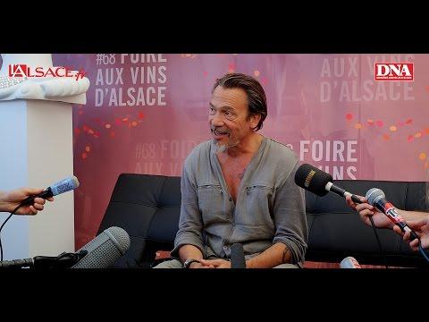 Extraits de la conférence de presse de Florent Pagny à la Foire aux Vins d'Alsace