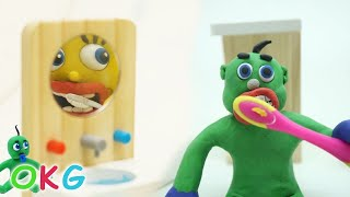 SUPERHEROES BABIES DAILY ACTIVITIES - Clay & Play Cartoons Stop Motions