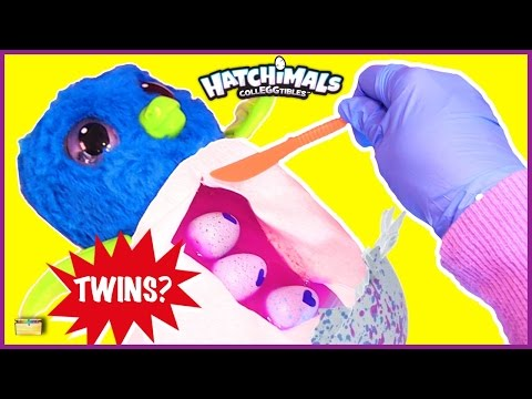 Thumbnail: Birth of Twin Hatchimals CollEGGtibles Surprise Eggs Game Hatchimals Toy Opening for Kids