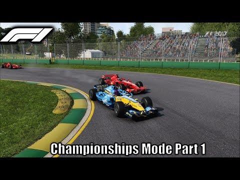 F1 2017 Championships Mode Part 1