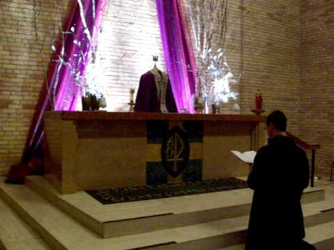 Tantum Ergo Traditional Latin Chant Eucharistic Benediction Blessed Sacrament Adoration Exposition