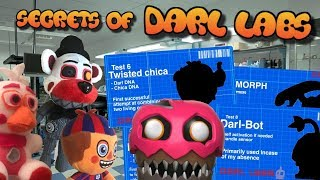 FNaF6 Plush: The Secrets of Darl Labs