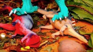 МУЧИТЕЛЬ! ЖЕСТОКИЙ ДИНОЗАВР! Мультик для детей. Мультики игрушки(ДИНОЗАВР-МУЧИТЕЛЬ издевается над динозаврами. И смелые динозавры решают проучить его. Они накидывают сеть..., 2016-08-07T04:45:04.000Z)