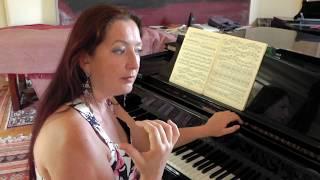 Johannes Brahms. 51 Exercices. 51 Ubungen fur Klavier. Cours 4 Ex N°9A, 9B Grande écart
