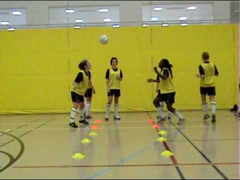 Wayne State College Soccer Indoor Training 2009 Youtube