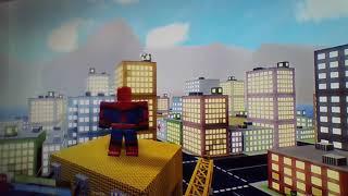 roblox-spiderman vs superman vs hulk vs batman