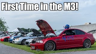 AUTOCROSSING MY SUPERCHARGED E46 M3!