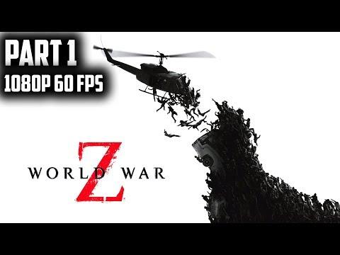 WORLD WAR Z Solo Campaign (HARD) Walkthrough Part 1 NEW YORK(DESCENT)-No Commentary