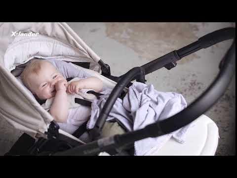 Детская прогулочная коляска X-Lander X-Cite [184262]. Видео №3